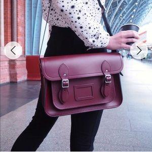 The Cambridge satchel company, 13 inch - Oxblood